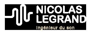 Nicolas Legrand ingénieur du son à Paris
